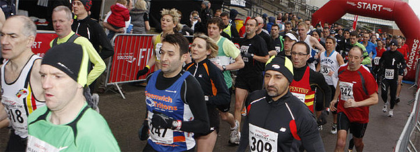 Saucony 10K Run at The Triathlon Show